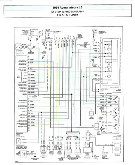 diagram 2001 honda civic fuse box diagram