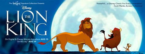 film lion king youtube the lion king on digital disney movies anywhere august 15th