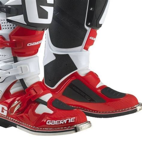 gaerne sg12 motocross boots gaerne sg12 motocross boots limited edition white red