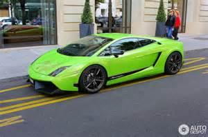 Lamborghini Gallardo Superleggera Green Lamborghini Gallardo Lp570 4 Superleggera 20 June 2014