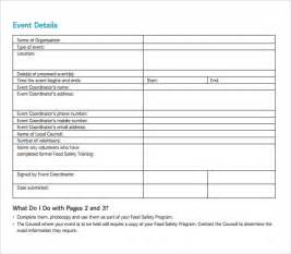 program templates sle event program template 38 free documents in pdf