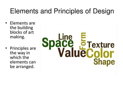 design elements and principles ppt ppt elements and principles of design powerpoint