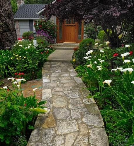 garden pathway ideas garden path garden path designs pebble path concrete