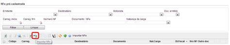 layout arquivo importação nfe nfe pra cadastrada ajuda