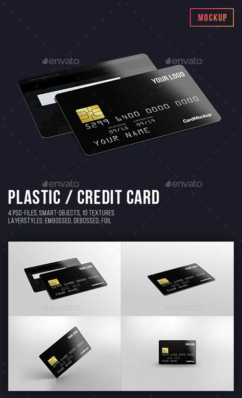 Plastic Credit Card Business Card Mockup Psd Template by Universal Business Card Mock Up Images Card Design And