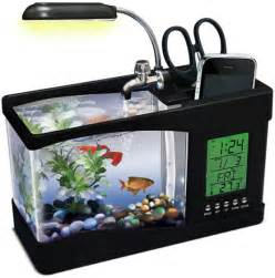 desk fish tank 5 desktop office toys make work less stressful cool