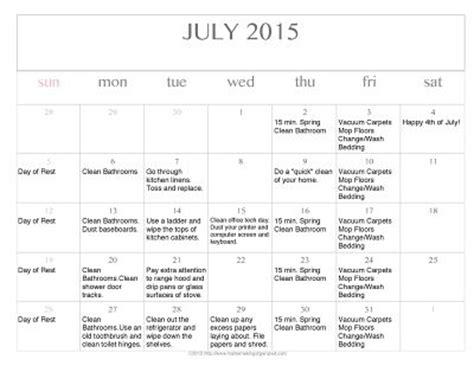 printable editable calendar july 2015 free editable printable july 2015 cleaning calendar