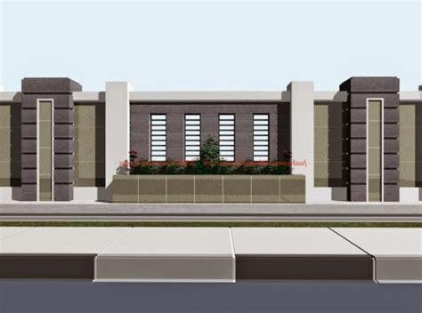 desain gapura pagar model dan desain pagar modern terbaru