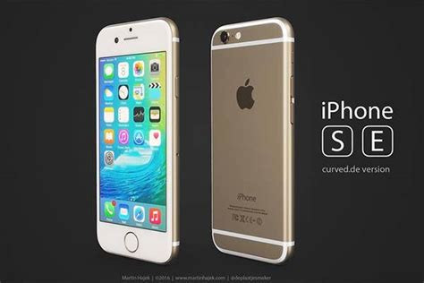 renders show  concept iphone se models based
