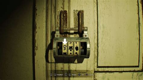 Bedroom Door Puzzle Resident Evil 7 Bedroom Dlc Solution Painting Locations