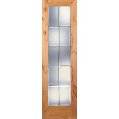 interior wood doors home depot krosswood doors 30 in x 96 in rustic knotty alder 2