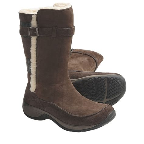 target womens snow boots merrell encore snow boots nubuck suede for