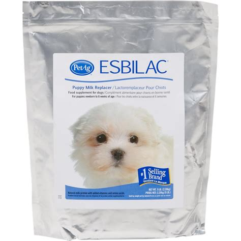 milk replacer for puppies petag esbilac puppy milk replacer powder 5 lb