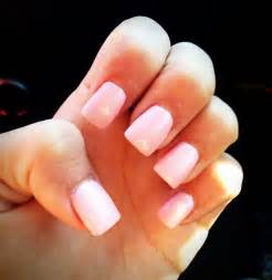 light pink acrylic nails for next a shorter