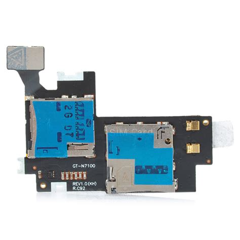 Slot Sim Card 2 replacement tf card micro sim card holder slot for