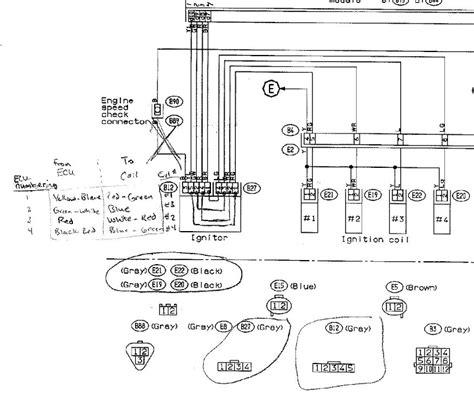 spark wire diagram ej25 spark wire diagram 28 wiring diagram images