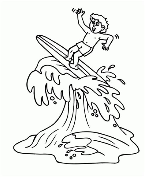 Summer Surfing Coloring Pages Summer Coloring Pages Coloring Pages For Little Girls L