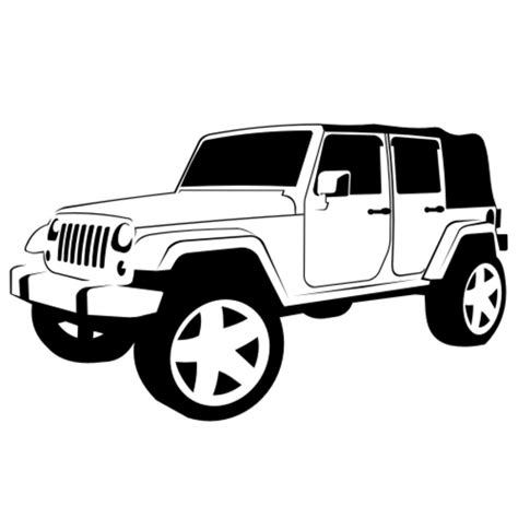 jeep clipart jeep wrangler x free images at clker com vector clip
