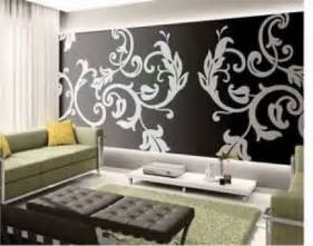 papier peint salon noir et blanc papier peint