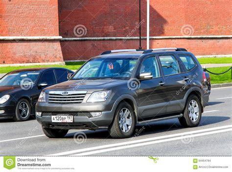 Kia Motors Russia Kia Mohave Editorial Stock Image Image 64454784