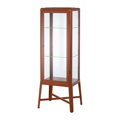glass door cabinet ikea fabrik 214 r glass door cabinet brown ikea