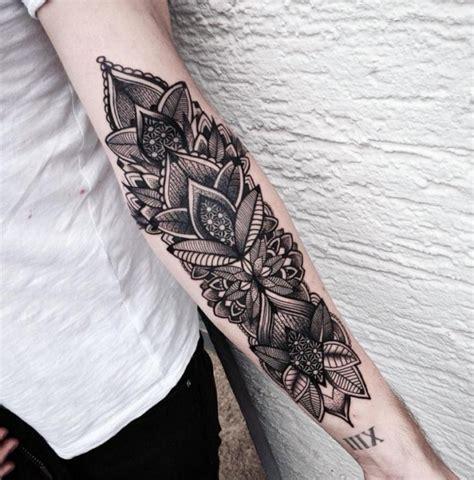 tattoo mandala knie blumen tattoo maori style tattoos pinterest tattoo