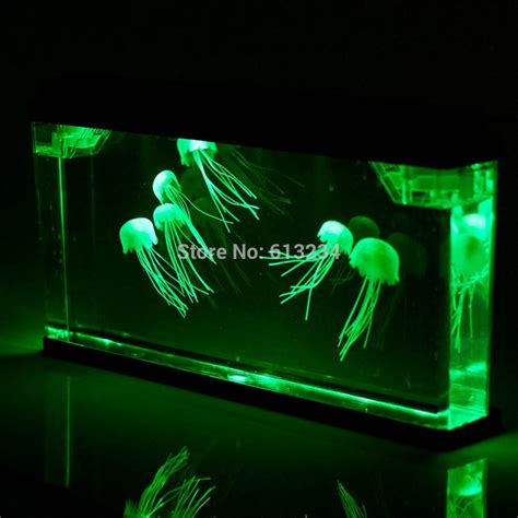 jellyfish aquarium with color changing led lights buy rgb led light 12 24 led colorful air