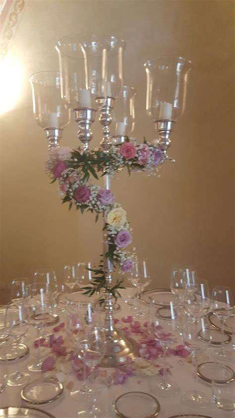 candele per candelabri 78 migliori idee su fiori candelabri su