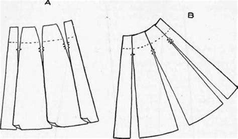 free pattern gored skirt to baste sleeves