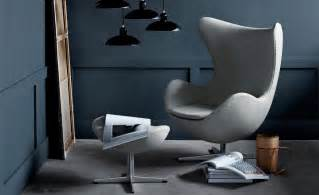 Modern Chair With Ottoman Design Ideas Egg Chair Ottoman Hivemodern