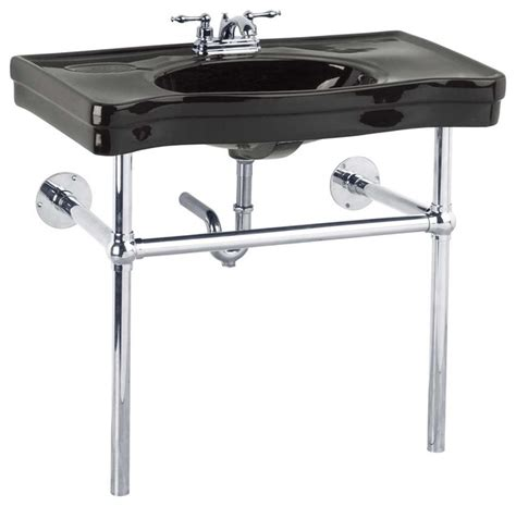 chrome legs for wall mount the renovator s supply inc console sinks black belle