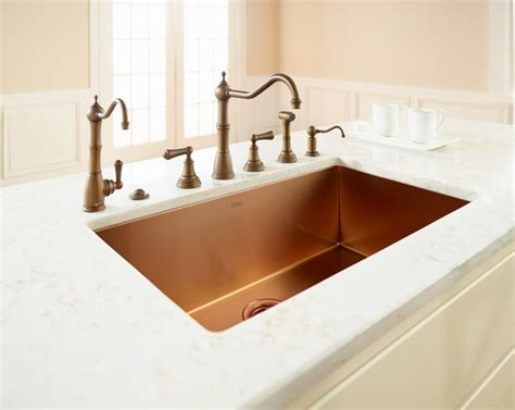 Luxury Kitchen Sink Rohl Single Bowl Luxury Stainless Copper Kitchen Sink Traditional Kitchen Faucets Orange