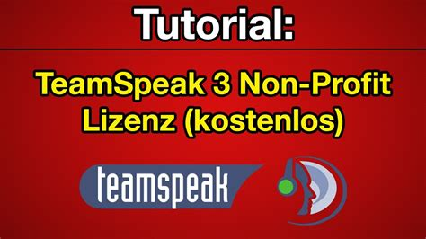 teamspeak 3 docker tutorial tutorial teamspeak 3 non profit lizenz 512 slots
