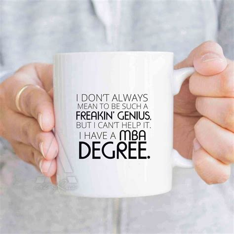 Mba Degree Gifts by Business Gifts Mba Degree Coffee Mug Gift