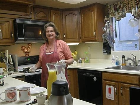 bed and breakfast julian dawn preparing a fabulous breakfast at butterfield b b