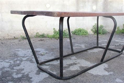 industrial metal tables for sale industrial metal wood table for sale at pamono