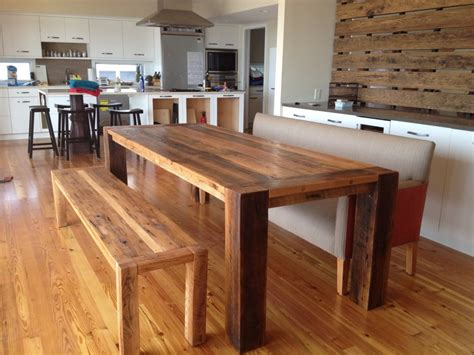 wooden bench  table wooden bench table image home