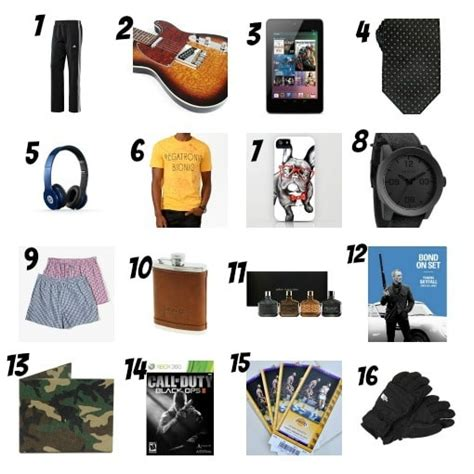 holiday gift guide 2012 gifts for your boyfriend we love