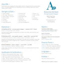 1 Page Resume Exles by 30 Beautiful Designer S One Page Resume Sles The Design Work