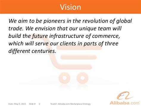 alibaba vision alibaba global strategy