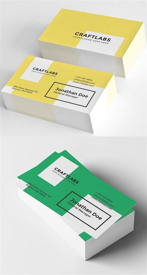 Simple Creative Business Card Designs 25 new modern business card templates print ready design