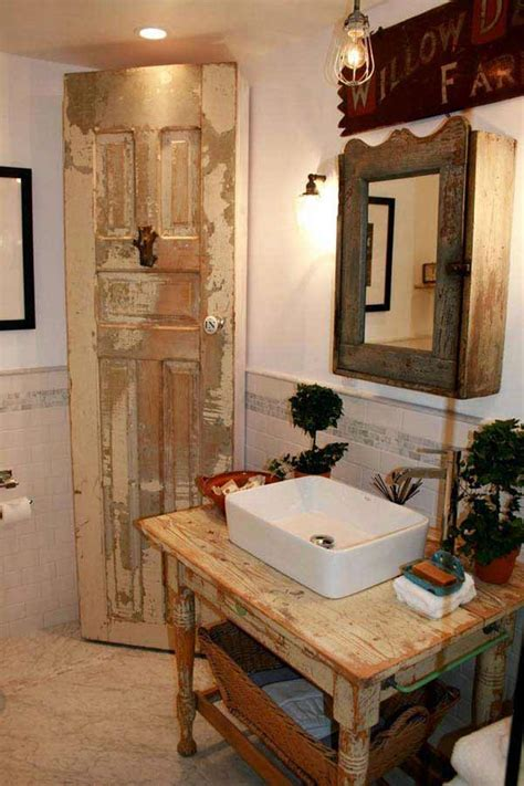 Rustic Bathroom Vanity Ideas by 30 Inspiring Rustic Bathroom Ideas For Cozy Home Amazing