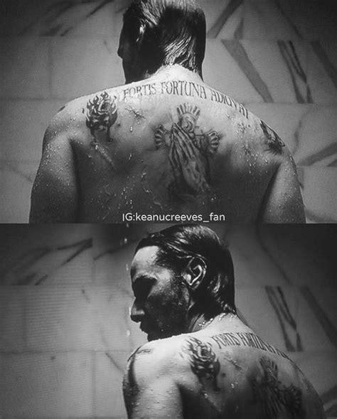 keanu reeves tattoo johnwick johnwickchapter2 wick wick