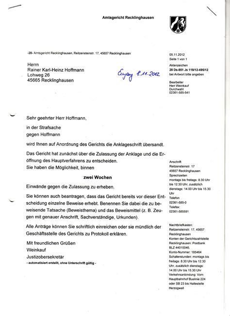 Complaint Letter To Keb anschreiben bewerbung muster richter 28 images
