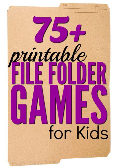 Printable File Folder 75 free printable file folder for from abcs