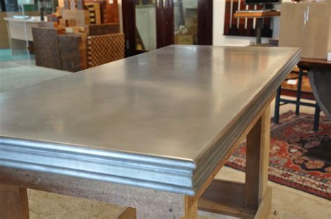 zinc bar tops zinc countertop gallery brooks custom