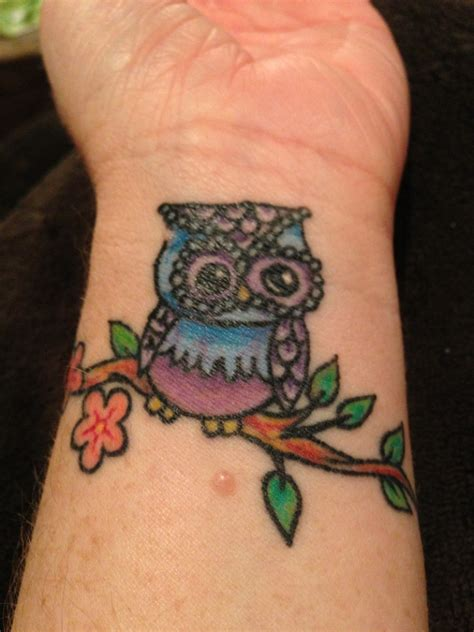 owl tattoos on wrist 36 attractive owl wrist tattoos design