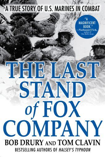 The Last Stand Of Fox Company Grove Atlantic