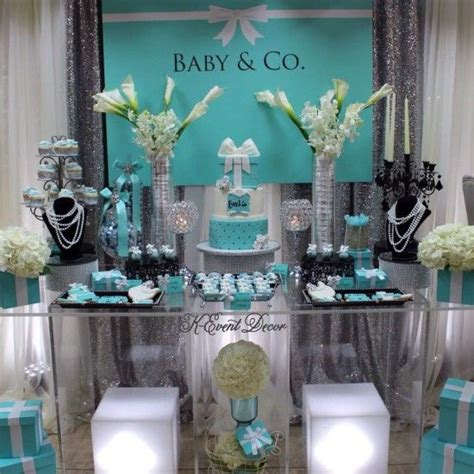 Co Baby Shower by Themed Baby Shower Table Decoration Ideas