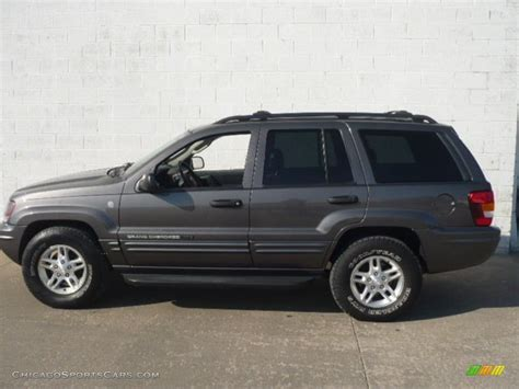 dark gray jeep cherokee 2004 jeep grand cherokee freedom edition 4x4 in graphite